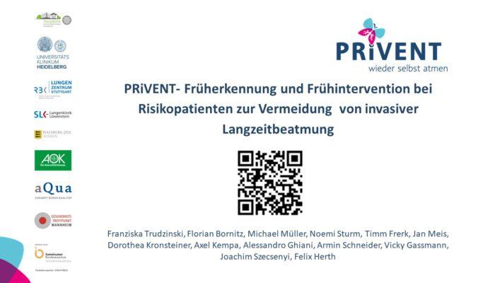 PRiVENT auf dem 61. Kongress der DGP (Deutsche Pneumologische Gesellschaft)